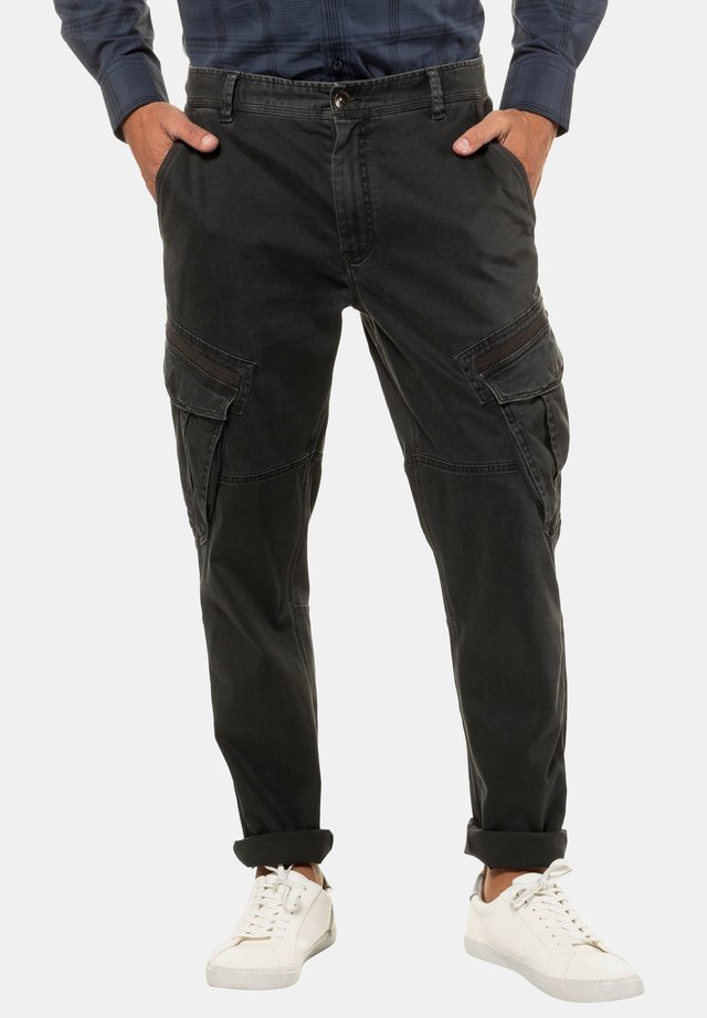 Reisitaskuhousut - dirty black