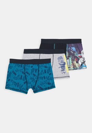 BOXER 3 PACK - Pants - dark navy
