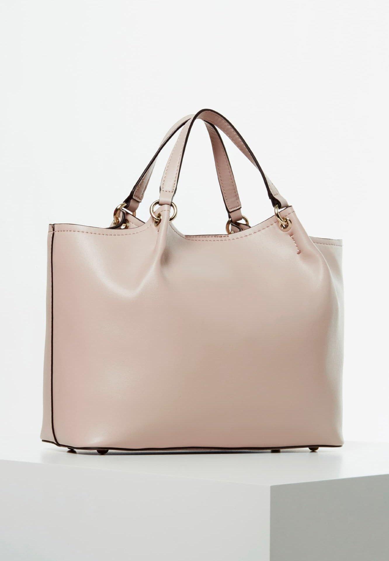 Guess GUESS HENKELTASCHE TANGEY SCHULTERRIEMEN - Handbag - rose