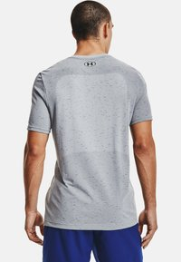 Under Armour - SEAMLESS SS - Print T-shirt - mod gray - 2