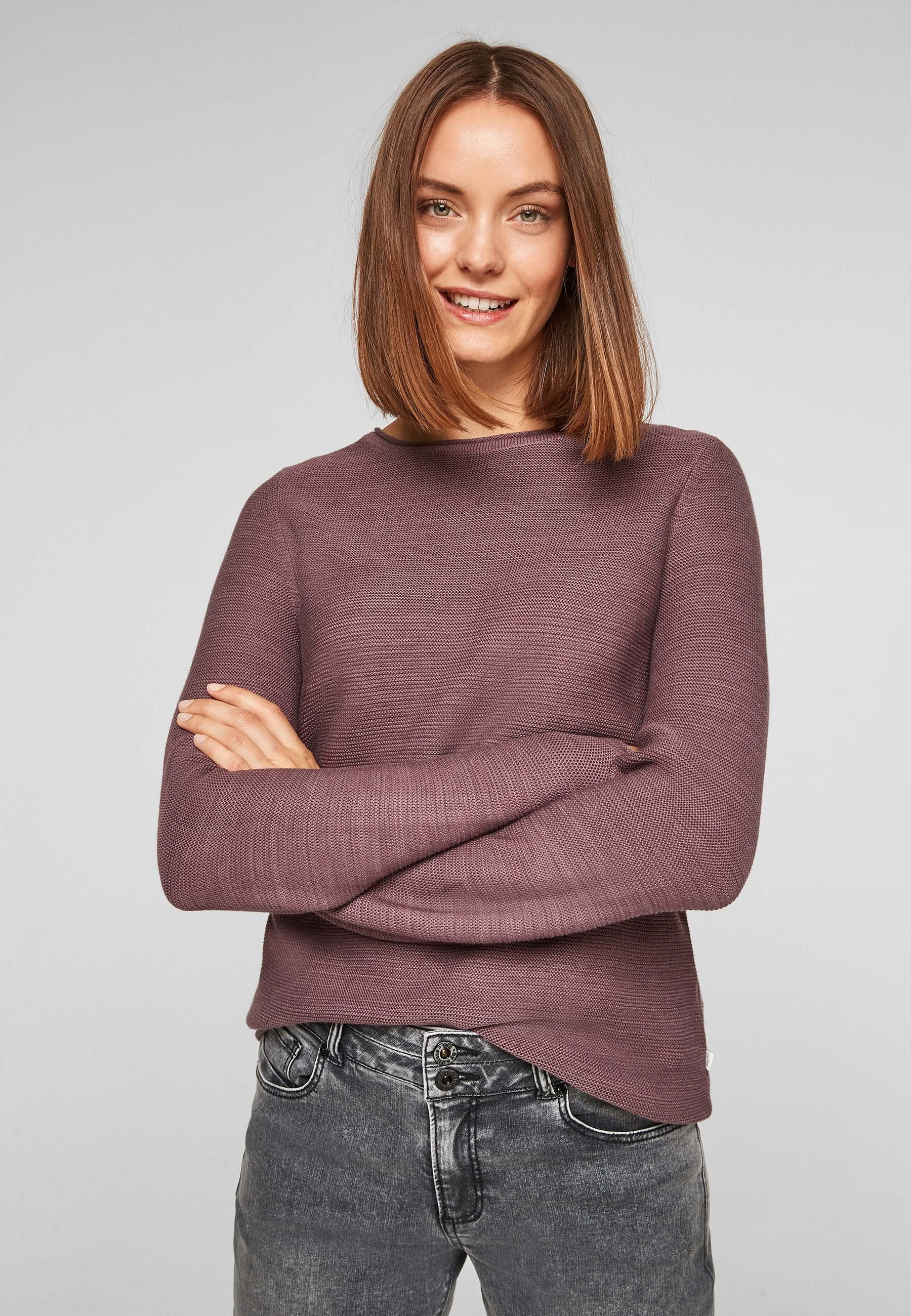 Damen TEXTURÉE - Strickpullover