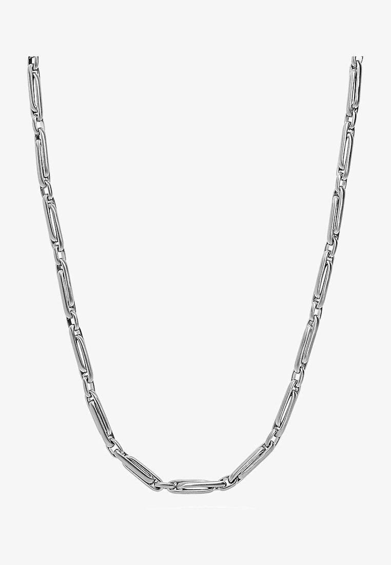 FAVS - DAMEN-KETTE EDELSTAHL - Necklace - silber