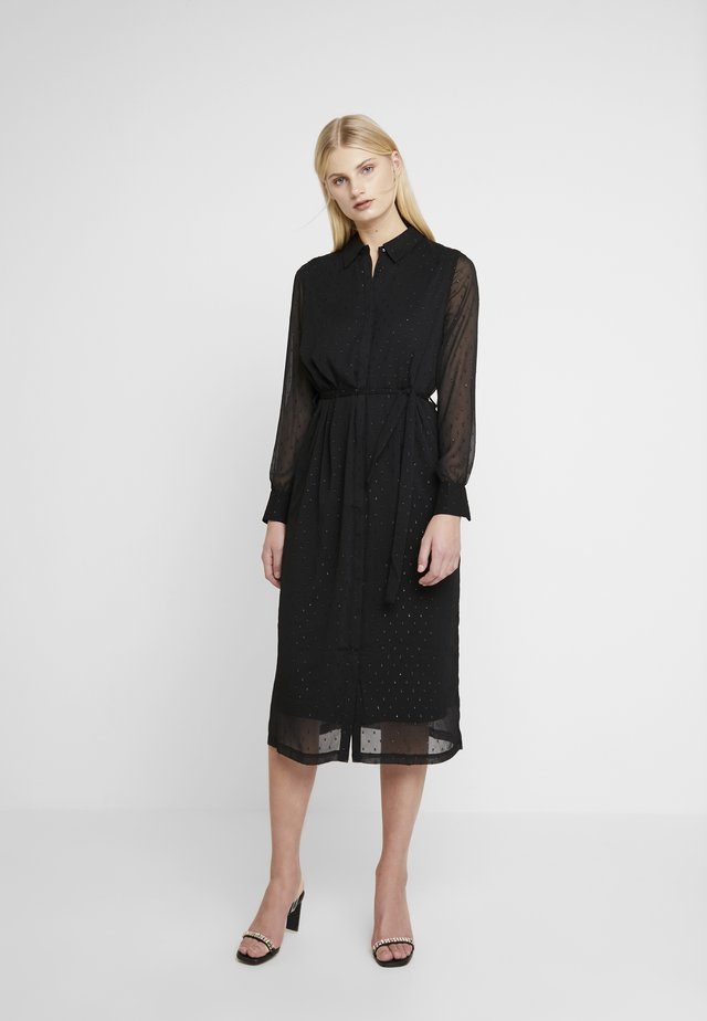 WILLEMETZ DRESS - Vapaa-ajan mekko - black