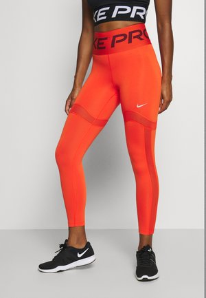 MIRAGE - Tights - team orange/metallic silver