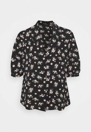VMSAGA - Print T-shirt - black/dara
