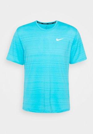 MILER  - T-shirts basic - chlorine blue