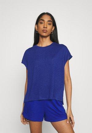 VINOEL CAP SLEEVE - Basic T-shirt - mazarine blue