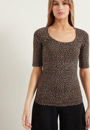 Print T-shirt - nero/phard st new animalier