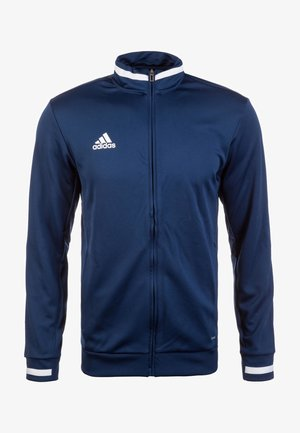 TEAM 19 - Zip-up hoodie - navy blue/white