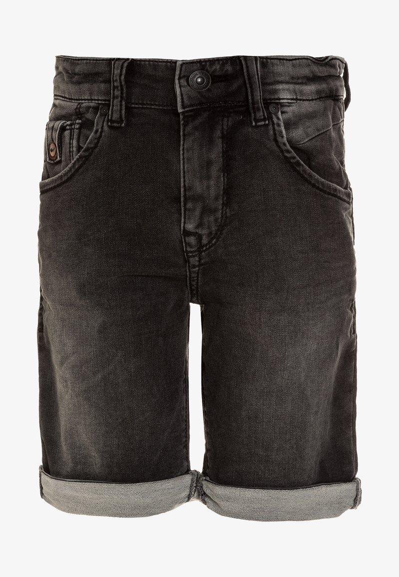LTB - ANDERS  - Denim shorts - grey cloud wash