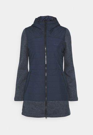 ALIVIA - Short coat - navy/navymarl