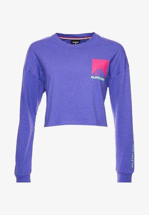 Camiseta de manga larga - purple opulence