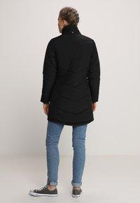 Jack Wolfskin - SVALBARD COAT WOMEN - Winter coat - black - 3