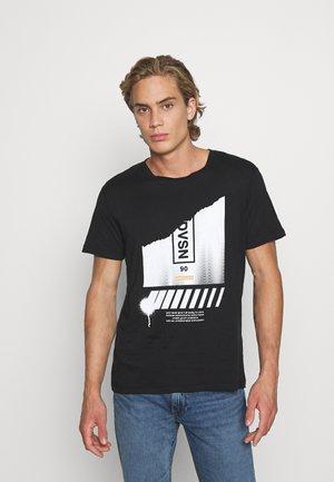 ASTRO - T-shirt imprimé - black
