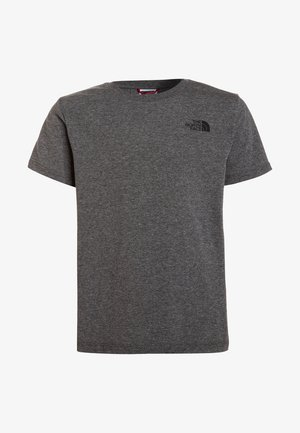 SIMPLE DOME UNISEX - Basic T-shirt - medium grey heather