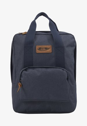 BEST WAY BACKPACK - School bag - navy blue