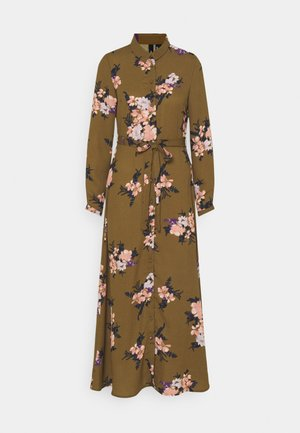 VMNEWALLIE DRESS  - Maxi dress - beech