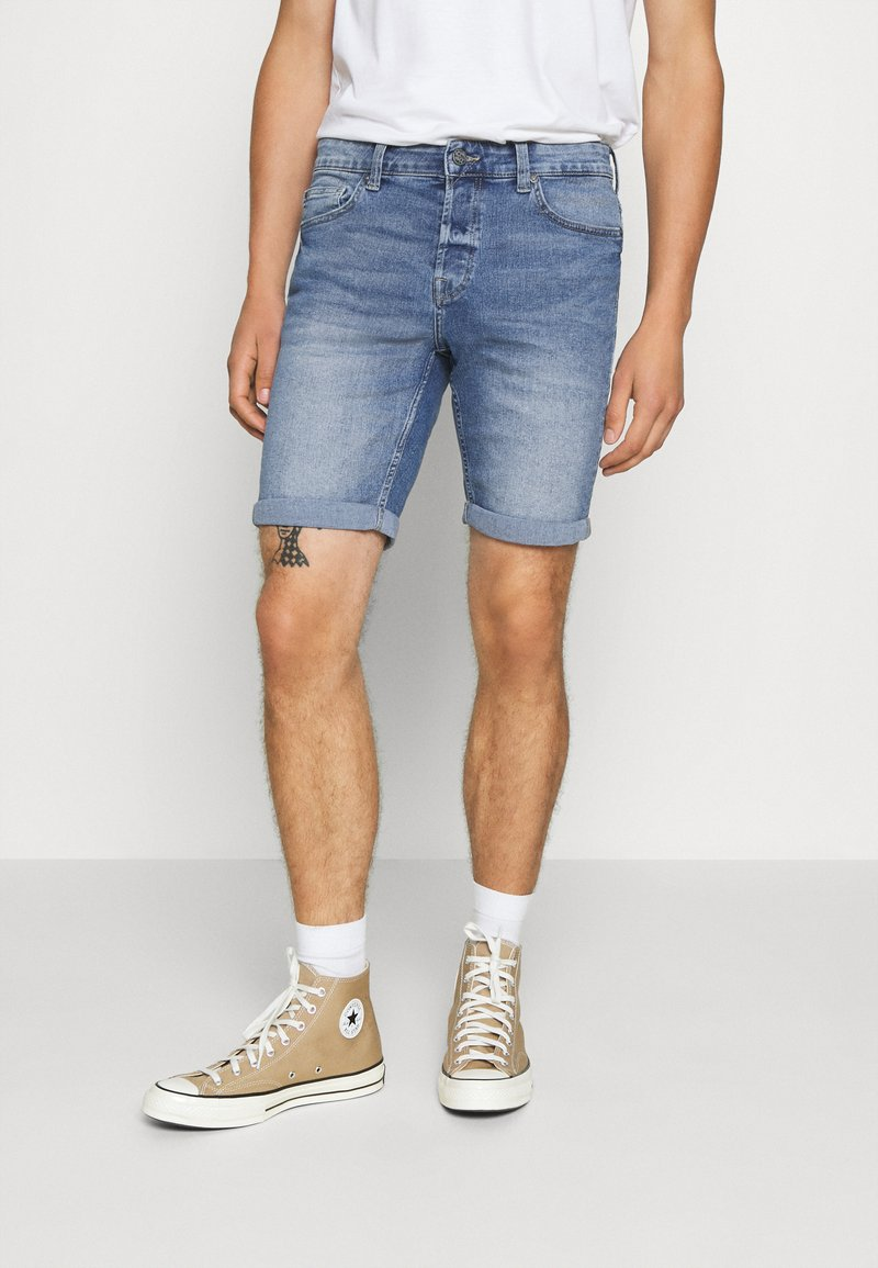 Only & Sons - ONSPLY LIGHT - Jeansshort - blue