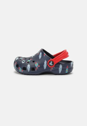CLASSIC TODDLER PRINTED - Pantolette flach - navy