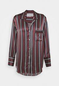 ASCENO - THE PARIS - Pyjama top - burgundy - 0