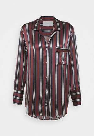 THE PARIS - Pyjamashirt - burgundy