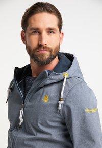 Schmuddelwedda - Waterproof jacket - dunkelmarine melange - 3