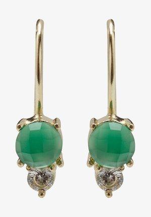 Earrings - green