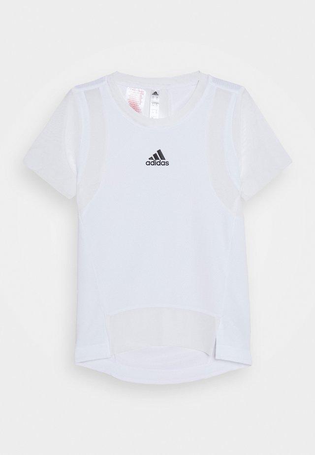 HEAT.RDY TRAINING SPORTS SHORT SLEEVE TEE - T-Shirt print - white