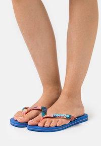 Havaianas - TOP VERANO - Pool shoes - blue star - 1