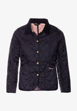 GIRLS SUMMER LIDDESDALE QUILT - Light jacket - navy/pale coral