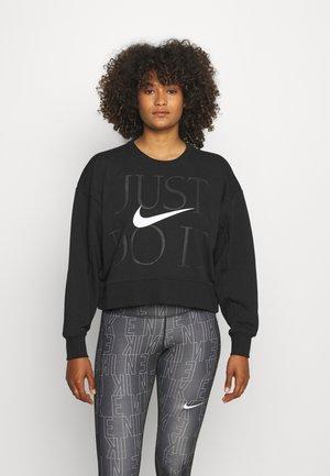 GET FIT - Sweatshirt - black/white