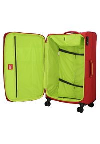 Hardware - REVOLUTION - Wheeled suitcase - coral red - 4