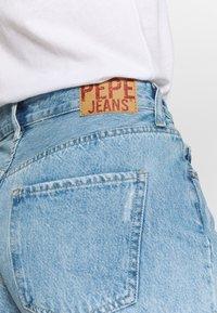 Pepe Jeans - MABLE - Džínové kraťasy - denim - 5