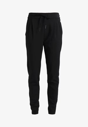 VMEVA LOOSE STRING PANTS - Bukser - black