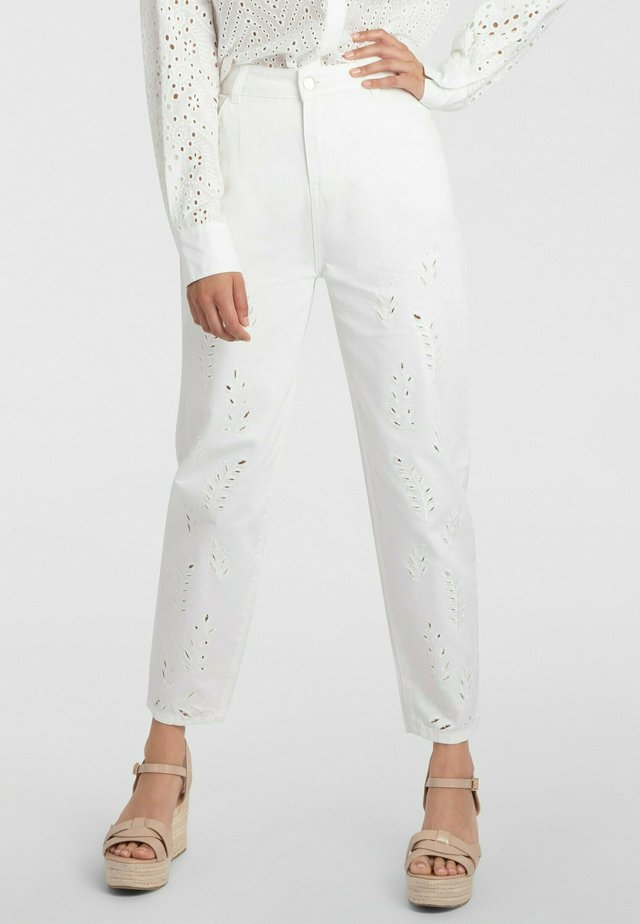 Jeans baggy - creme