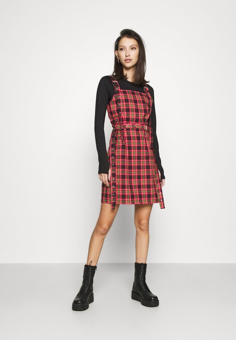 The Ragged Priest - Day dress - red