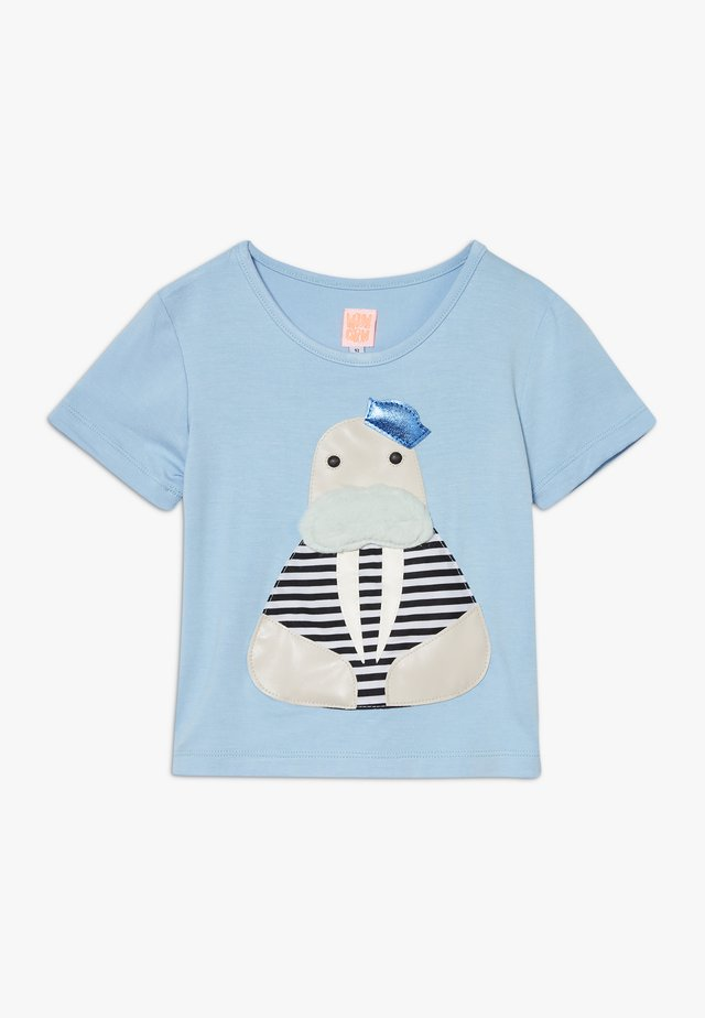 SAILOR - Print T-shirt - light blue