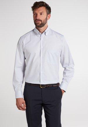 COMFORT FIT - Formal shirt - hellblau/beige