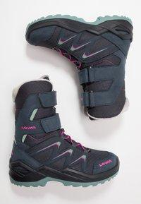Lowa - MADDOX WARM GTX - Winter boots - steel blue/jade - 0