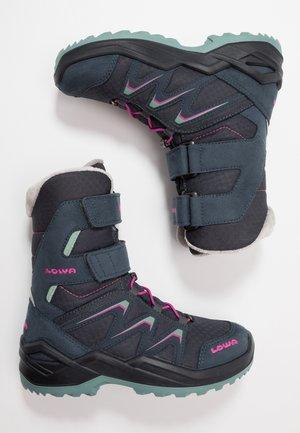 MADDOX WARM GTX - Winter boots - steel blue/jade