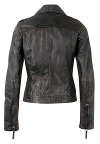 7eleven - IN TRENDIGEM LOOK - Leather jacket - anthra - 1