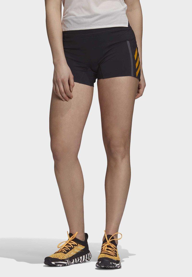 adidas Performance - TERREX PARLEY AGRAVIC SHORTS - Urheilushortsit - black