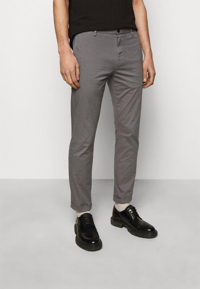 DAVID - Chino kalhoty - dark grey
