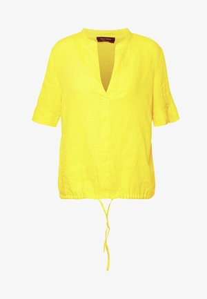 Blouse - sunny lime