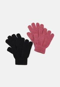 Name it - NKFMAGIC GLITTER GLOVES 2 PACK UNISEX - Gloves - deco rose - 1