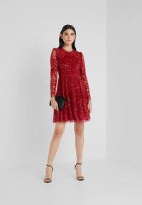 Needle & Thread - AURORA DRESS - Vestito elegante - cherry red - 1