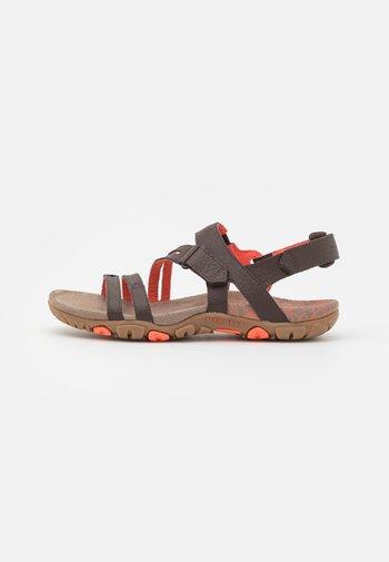 SANDSPUR ROSE CONVERT - Walking sandals - espresso/coral