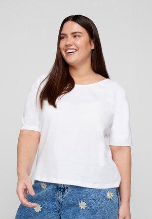 2/4 ÆRMER - Basic T-shirt - white