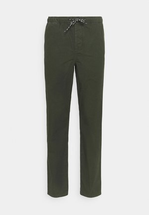 BIRCH LOOSE STOP PANT - Tygbyxor - forrest night