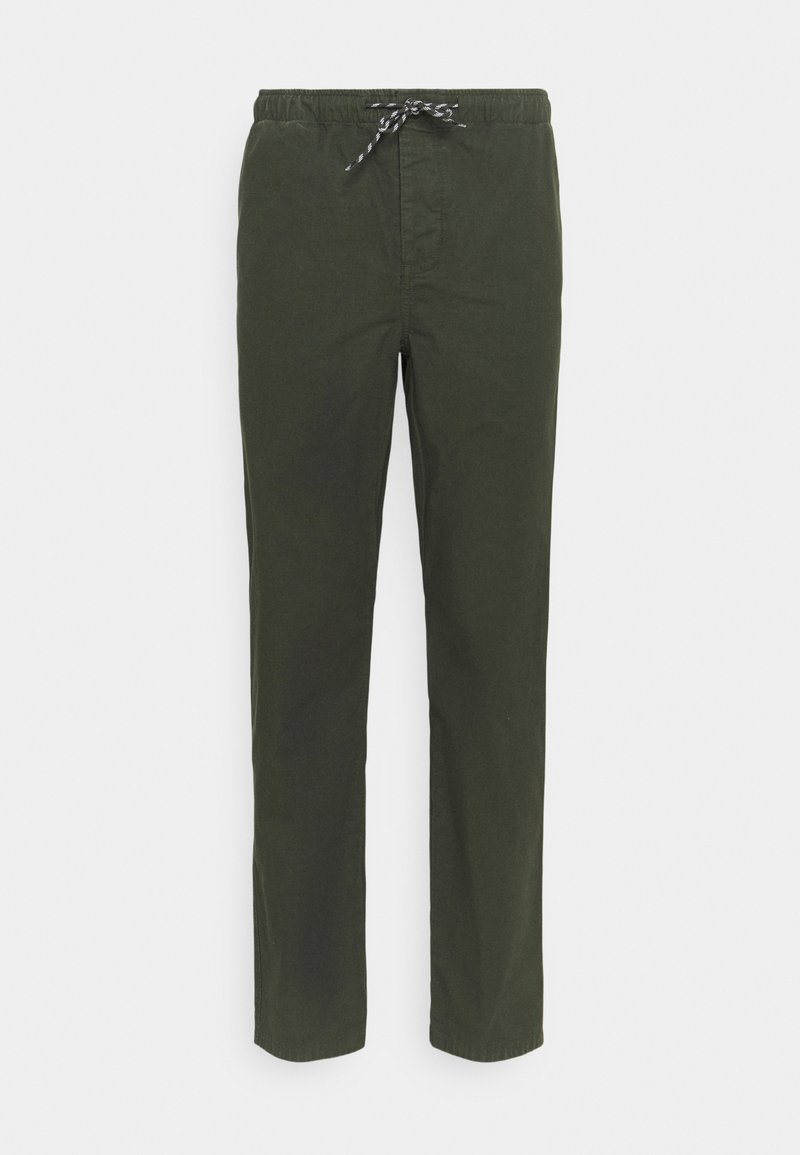 KnowledgeCotton Apparel - BIRCH LOOSE STOP PANT - Tygbyxor - forrest night